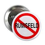 No Rumsfeld Pinback Buttons (10 pk)