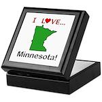 I Love Minnesota Keepsake Box