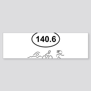 140 Oval w figures 1 Bumper Sticker