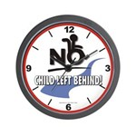 No Child Left Behind! Wall Clock