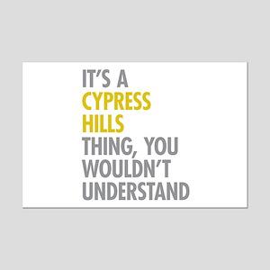 Cypress Hills Thing Mini Poster Print