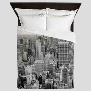 New York City Skyscrapers Queen Duvet