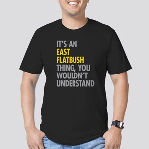 East Flatbush Thing Men's Fitted T-Shirt (dark)