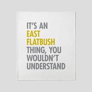 East Flatbush Thing Throw Blanket