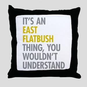East Flatbush Thing Throw Pillow