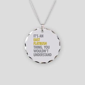 East Flatbush Thing Necklace Circle Charm