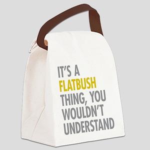 Flatbush Thing Canvas Lunch Bag
