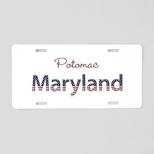 Custom Maryland Aluminum License Plate