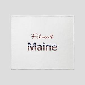 Custom Maine Throw Blanket