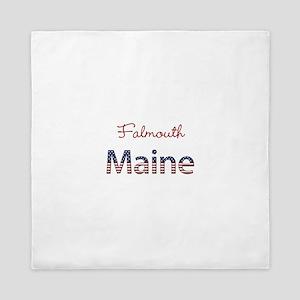 Custom Maine Queen Duvet