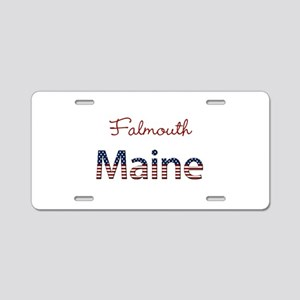 Custom Maine Aluminum License Plate