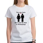 You are here, but... T-Shirt