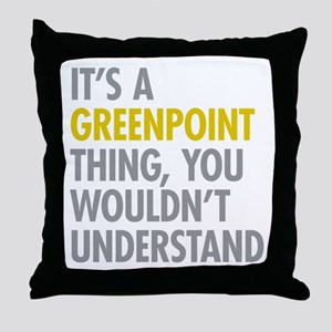 Greenpoint Thing Throw Pillow