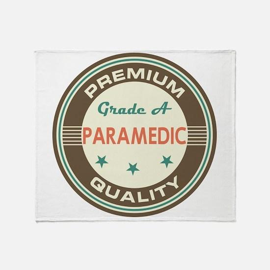 paramedic Vintage Throw Blanket