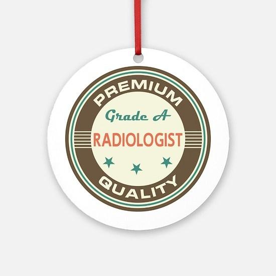 radiologist Vintage Ornament (Round)