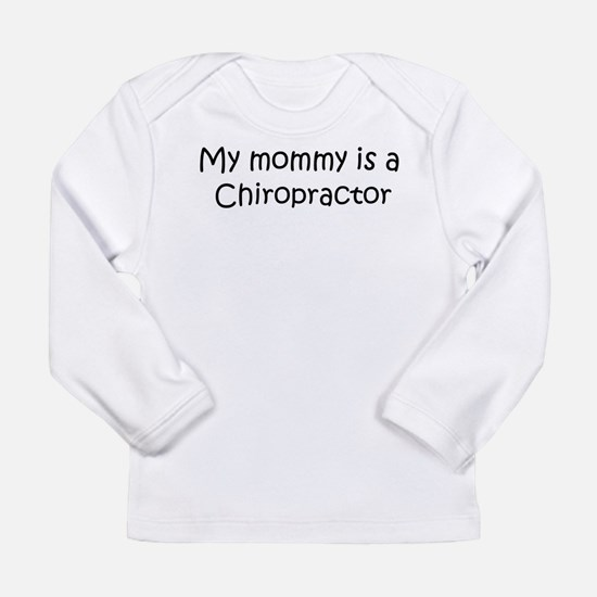 Mommy is a Chiropractor Long Sleeve T-Shirt