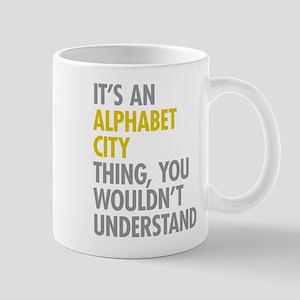 Alphabet City Thing Mug