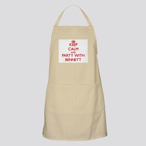Keep calm and Party with Bennett Apron