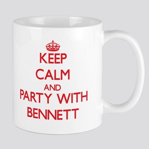 Keep calm and Party with Bennett Mugs