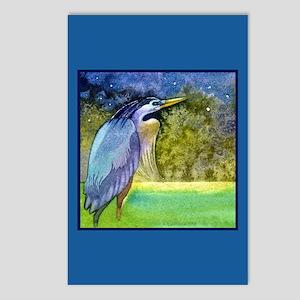 Beautiful Blue Heron Postcards (Package of 8)