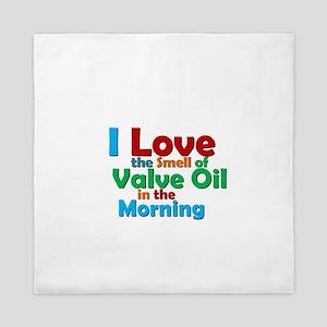 Valve Oil Queen Duvet