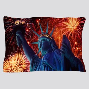 Lady Liberty Pillow Case