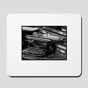 Old School Writers Club 3 Mousepad