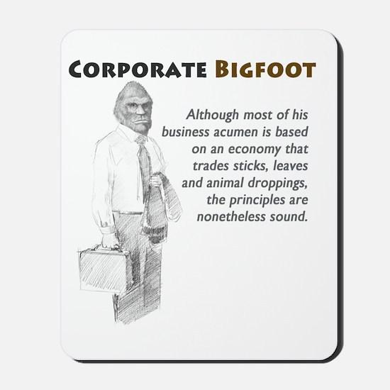 Corporate Bigfoot Mousepad