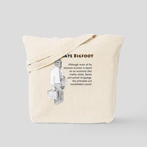 Corporate Bigfoot Tote Bag