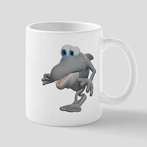 Funny Sneaky Shark Mug