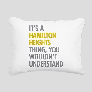 Hamilton Heights Thing Rectangular Canvas Pillow
