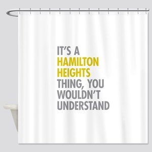 Hamilton Heights Thing Shower Curtain