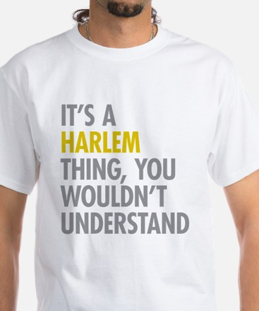 Harlem Thing White T-Shirt