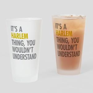 Harlem Thing Drinking Glass