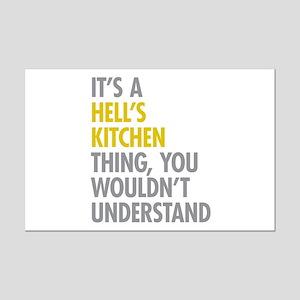 Hells Kitchen Thing Mini Poster Print