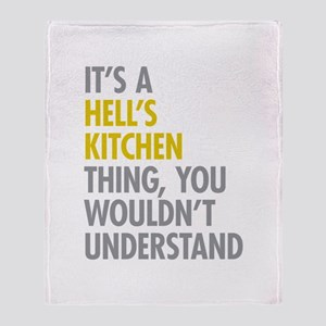 Hells Kitchen Thing Throw Blanket