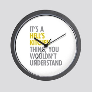 Hells Kitchen Thing Wall Clock