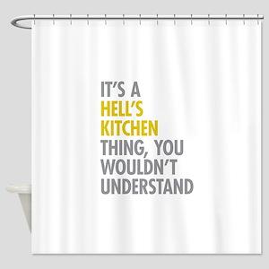 Hells Kitchen Thing Shower Curtain