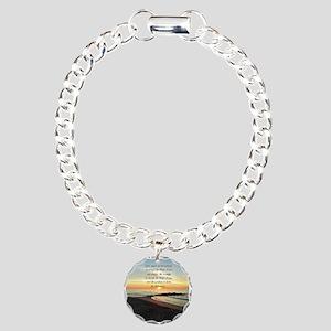 SERENITY PRAYER Charm Bracelet, One Charm