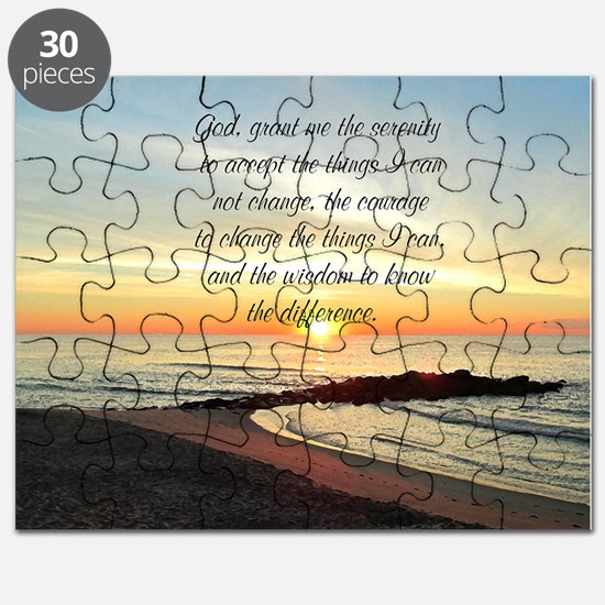 SERENITY PRAYER Puzzle