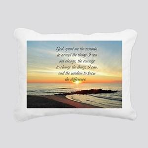 SERENITY PRAYER Rectangular Canvas Pillow