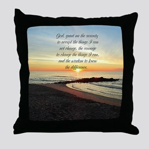 SERENITY PRAYER Throw Pillow