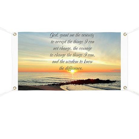 SERENITY PRAYER Banner