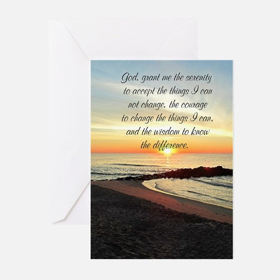 SERENITY PRAYER Greeting Cards (Pk of 20)