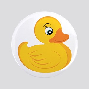 """Rubber Ducky 3.5"""" Button"""