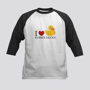 Love Rubber Ducks Baseball Jersey