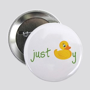 "Just Ducky 2.25"" Button"