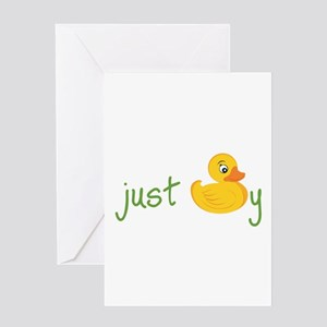 Just Ducky Greeting Cards