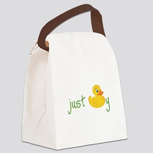 Just Ducky Canvas Lunch Bag