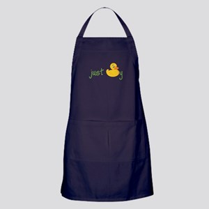 Just Ducky Apron (dark)